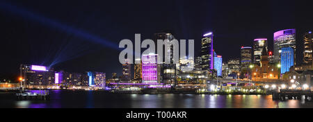 Circular Quay is the main ferry terminal in Sydney and the most central point for visitors to the city. - Stock Photo