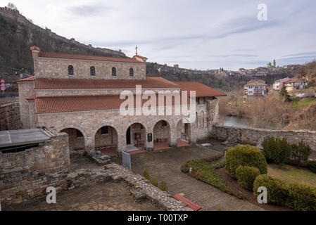 The Holy Forty Martyrs Church is a medieval church in Veliko Tarnovo, Bulgaria. Eastern Orthodox church - Stock Photo
