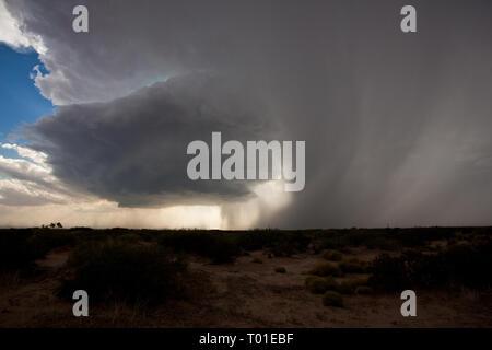 Horizon City, El Paso County, Texas, USA - Stock Photo