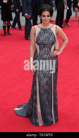 Aug 04, 2014 - London, England, UK - The Expendables 3 World Premiere, Odeon, Leicester Square Photo Shows: Guest - Stock Photo