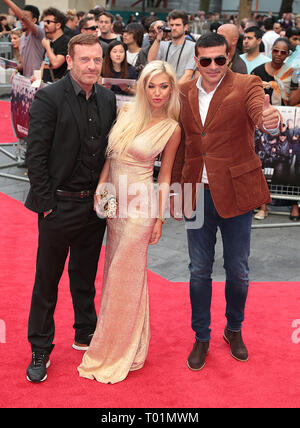 Aug 04, 2014 - London, England, UK - The Expendables 3 World Premiere, Odeon, Leicester Square Photo Shows: Guests - Stock Photo