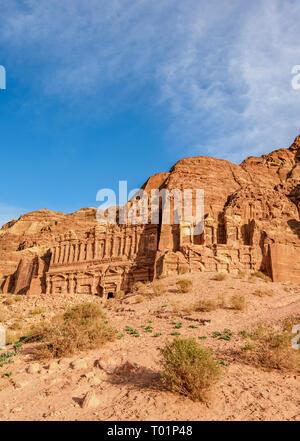 Royal Tombs, Petra, Ma'an Governorate, Jordan