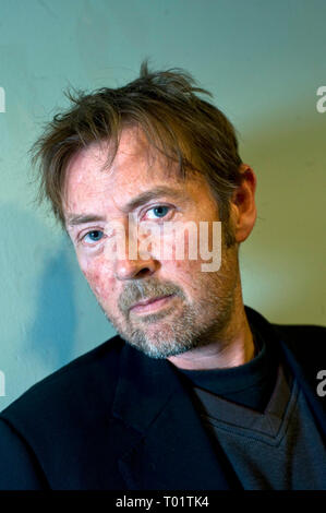 UK writer and former Booker Prize Winner DBC Pierre pictured at Bookslam event @ The Tabernacle , west London . His new book 'Lights Out in Wonderland'    30 09 2010. - Stock Photo