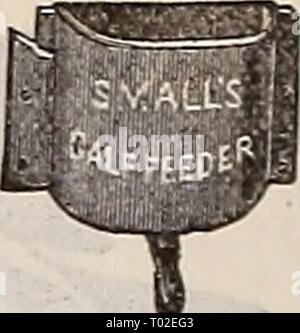 Dreer's garden calendar : 1898 . dreersgardencale1898henr Year: 1898  Calf Feeder. - Stock Photo