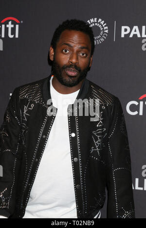 Los Angeles, CA, USA. 16th Mar, 2019. LOS ANGELES - MAR 16: Baron Vaughn at the PaleyFest - ''Grace and Frankie'' Event at the Dolby Theater on March 16, 2019 in Los Angeles, CA Credit: Kay Blake/ZUMA Wire/Alamy Live News - Stock Photo