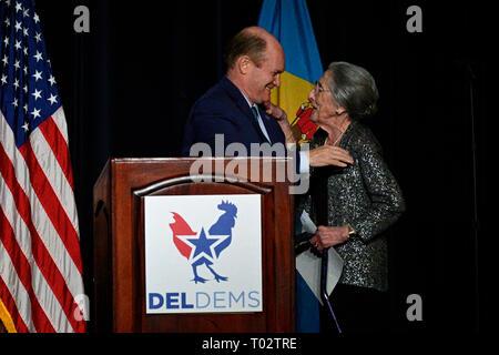 Delaware, USA  16th March 2019  Congresswoman Lisa Blunt Rochester
