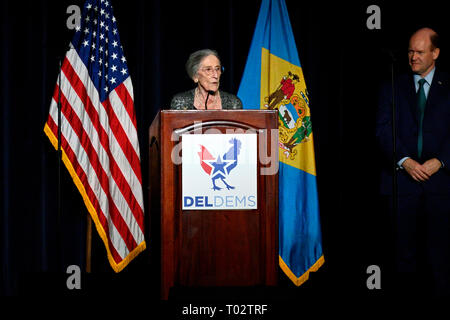 Delaware, USA  16th March 2019  Congresswoman Lisa Blunt Rochester