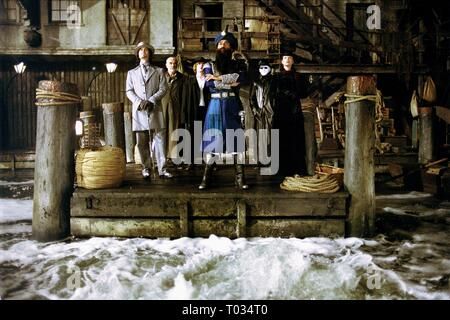 THE LEAGUE OF EXTRAORDINARY GENTLEMEN, STUART TOWNSEND, SEAN CONNERY, SHANE WEST, NASEERUDDIN SHAH, TONY CURRAN , PETA WILSON, 2003 - Stock Photo