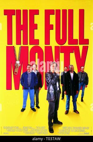 FILM POSTER, THE FULL MONTY, 1997 - Stock Photo