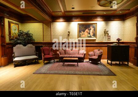 Parlour in a hotel in Las Vegas - Stock Photo