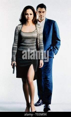 JENNIFER LOPEZ, GEORGE CLOONEY, OUT OF SIGHT, 1998 - Stock Photo