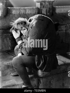 CHARLES LAUGHTON, THE HUNCHBACK OF NOTRE DAME, 1939 - Stock Photo