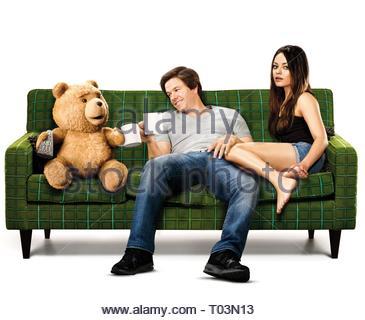 TED, MARK WAHLBERG, MILA KUNIS, TED, 2012 - Stock Photo