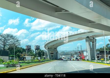 New Bridge on  7 sur, Las Piedrecitas, Managua Nicaragua. - Stock Photo