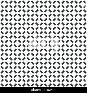 Abstract seamless pattern. Modern stylish texture. Regularly repeating geometric lattice made of rectangles. Flat design. Vector background. - Stock Photo