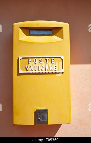 Poste Vaticane mailbox - Stock Photo
