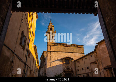 Convent of Santa Clara, historic center of Palma de Mallorca. Majorca, Balearic Islands, Spain Europe - Stock Photo