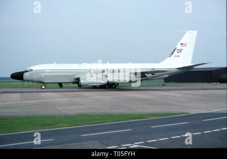 USAF United States Air Force Boeing RC-135V - Stock Photo
