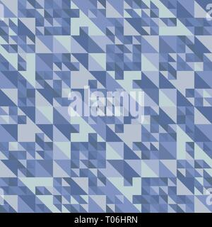 Abstract triangles pattern background  Water and Sky