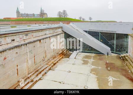 Denmark, NOV 1: Exterior view of the M/S The Maritime Museum on NOV 1, 2015 at Denmark - Stock Photo