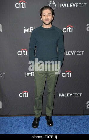 Los Angeles, CA, USA. 15th Mar, 2019. LOS ANGELES - MAR 15: Michael Zegen at the PaleyFest - ''The Marvelous Mrs. Maisel'' at the Dolby Theater on March 15, 2019 in Los Angeles, CA Credit: Kay Blake/ZUMA Wire/Alamy Live News - Stock Photo