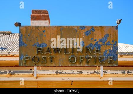 Rawlinna Post Office, Rawlinna, Western Australia, Australia - Stock Photo
