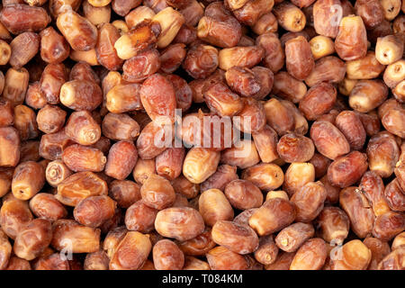 Close up shot of some Fresh Medjool dates - Stock Photo