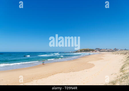 Nobbys Beach, Newcastle, New South Wales, Australia - Stock Photo