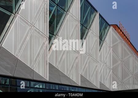 Denmark, NOV 1: Exterior view of the Culture Yard on NOV 1, 2015 at Denmark - Stock Photo