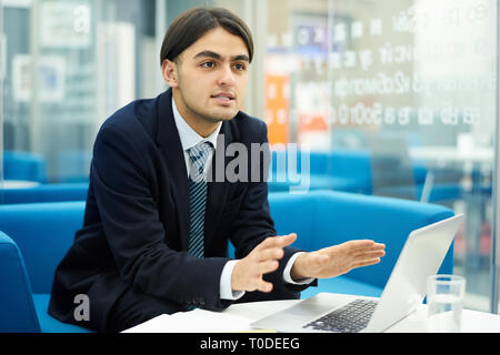 Young Middle-Eastern Entrepreneur - Stock Photo