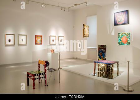 Österreich, Klosterneuburg, Maria Gugging, Art/Brut Center Gugging - Stock Photo