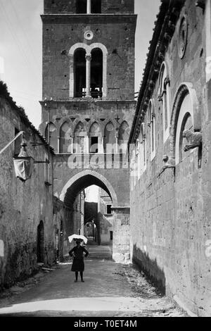 casertavecchia, campania, italy 1925 - Stock Photo