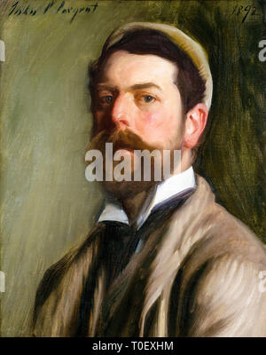 John Singer Sargent (1856–1925), Self portrait, 1892 - Stock Photo