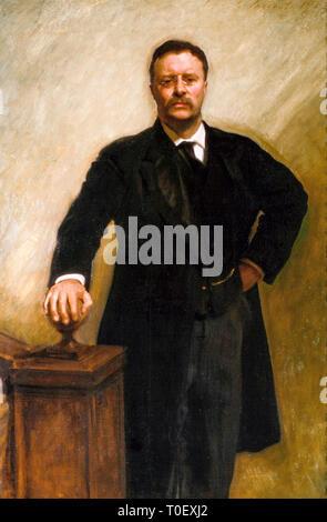 John Singer Sargent, Theodore Roosevelt (1858-1919), portrait, 1903 - Stock Photo