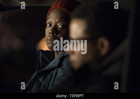 VIOLA DAVIS, TERRENCE HOWARD, PRISONERS, 2013 - Stock Photo