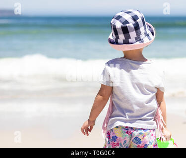 Summer beach outing - Stock Photo