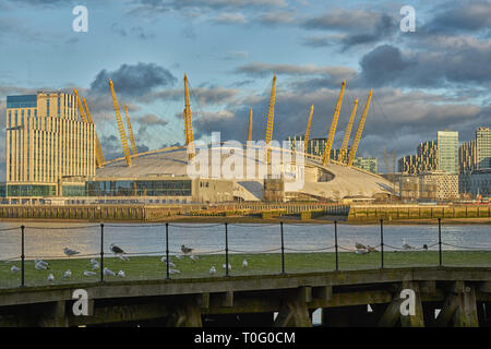 the millenium dome  02 - Stock Photo