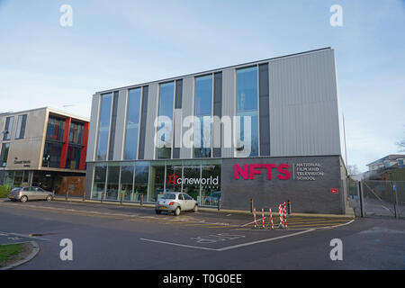 the national film and televiision school - Stock Photo