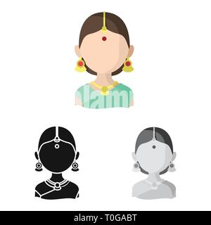 Vector illustration of imitator and resident icon. Set of imitator and culture stock symbol for web. - Stock Photo