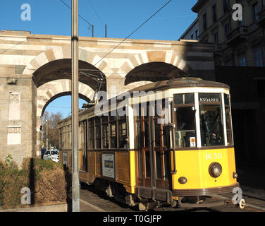 Europe, Italy, Lombardy, Milan, Porta Nuova - Stock Photo
