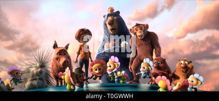RELEASE DATE: March 15, 2019 TITLE: Wonder Park STUDIO: Paramount Pictures DIRECTOR: Writer Josh Appelbaum PLOT: Wonder Park tells the story of an amusement park where the imagination of a wildly creative girl named June comes alive. STARRING: From L, Steve, Greta, June, Boomer, Peanut, Cooper and Gus. (Credit Image: © Paramount Pictures/Entertainment Pictures)