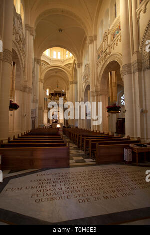 Basilica in Gozo, Bażilika-Santwarju Nazzjonali tal-Madonna Ta' Pinu - Stock Photo