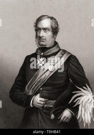 Major General Sir Henry Havelock, India, Asia, - Stock Photo