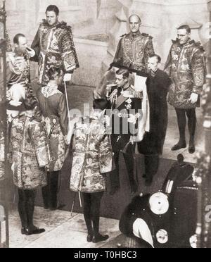 old vintage photo of Edward VIII - Stock Photo