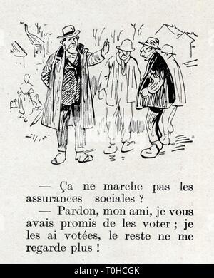 histoire drole ancienne.1 mars 1930 - Stock Photo