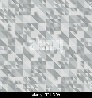 Gray abstract background. Texture of triangles. Vector illustration. Geometric pattern - Stock Photo