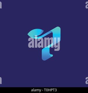 Abstract Letter P Concept illustration vector Design template. Suitable for Creative Industry, Multimedia, entertainment, Educations, Shop, and any re - Stock Photo