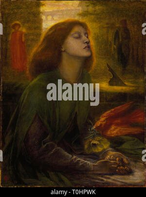 Dante Gabriel Rossetti: Beata Beatrix, ca 1864-70. - Stock Photo