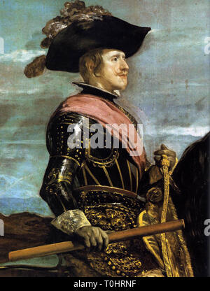 portrait of king philip iv of spain - Stock Photo