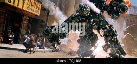 IRONHIDE, TRANSFORMERS, 2007 - Stock Photo